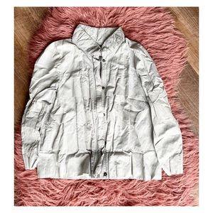 Kenneth Cole ruffle jacket